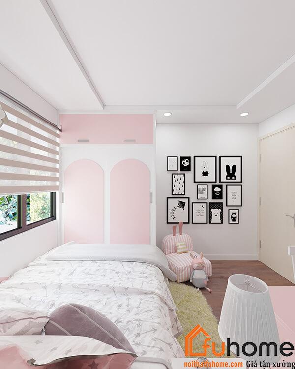 5 mẫu thiết kế nội thất chung cư 2 phòng ngủ đẹp, hiện đại, ấn tượng 5