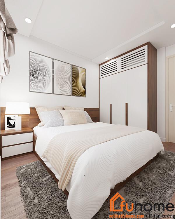 Thiết kế nội thất chung cư hiện đại – Công trình Chị Tuyến tại RubiCity