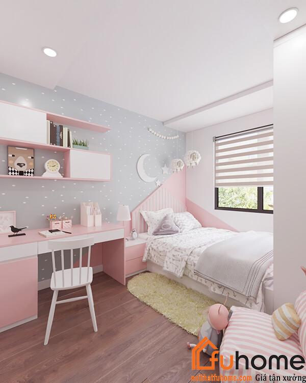 Thiết kế thi công nội thất nhà Chị Tuyến tại RubiCity 14