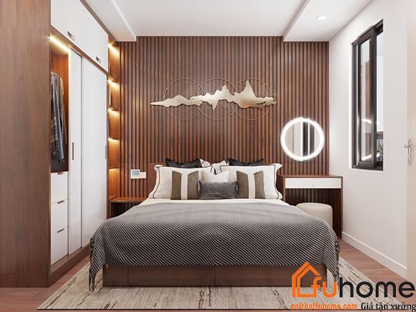 Thiết kế nội thất chung cư – Công trình Chị Tuyến tại RubiCity 5