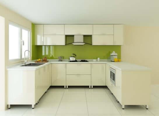 Thiết kế bếp chung cư đẹp, tiện nghi với chi phí hợp lý 1