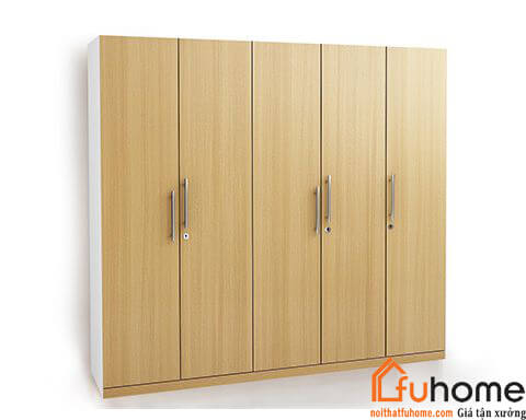 Một số mẫu tủ quần áo 4 buồng gỗ công nghiệp mà bạn có thể tham khảo 2