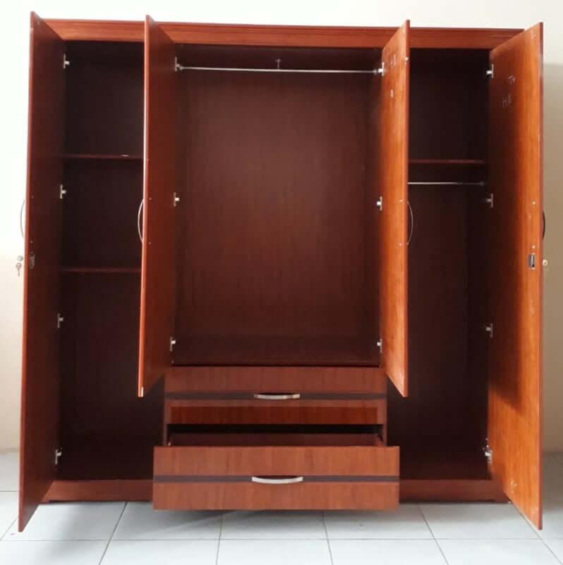 Tủ quần áo gỗ MDF vừa có giá thành rẻ lại thêm độ bền cao