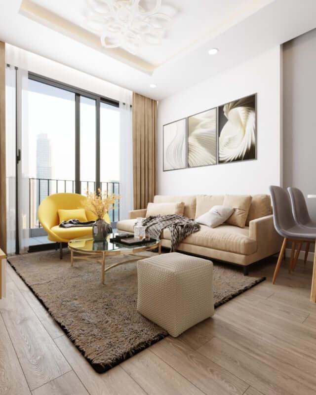 Nội thất căn hộ nhỏ - Nguyên tắc vàng để có căn hộ đẹp, rộng rãi 3