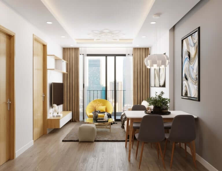 mẫu nội thất chung cư đẹp giữa lòng thủ đô Hà Nội