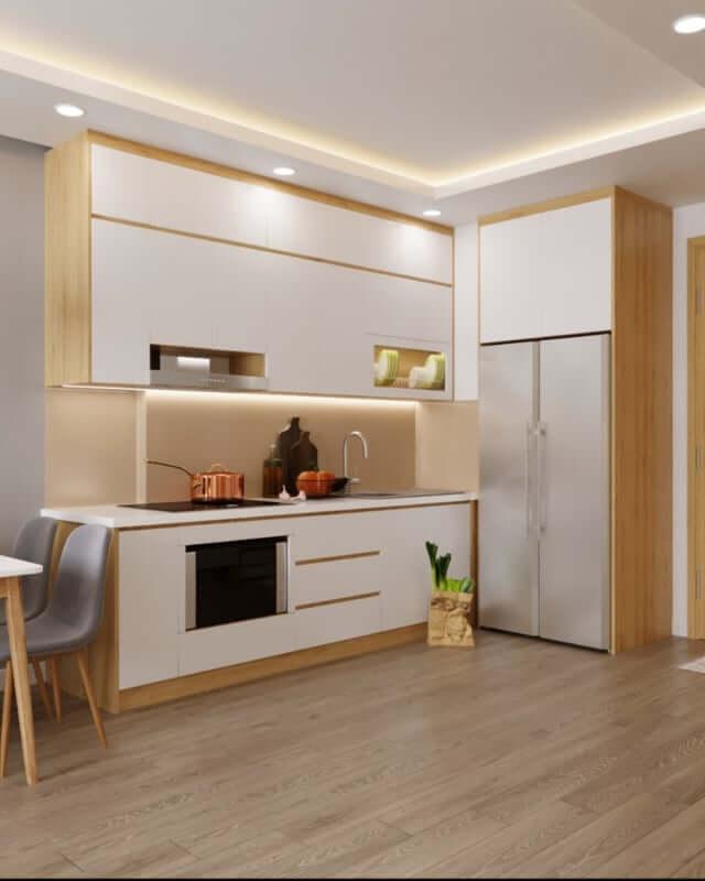 Thiết kế, thi công nội thất chung cư Imperiaskygarden 1 theo hướng hiện đại