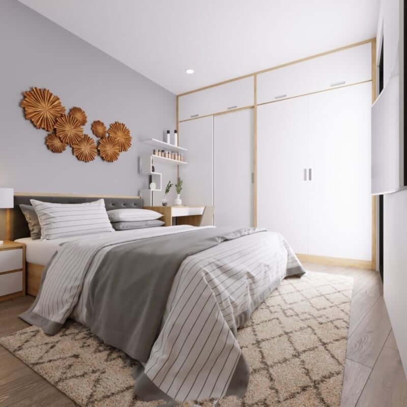 Thiết kế, thi công nội thất chung cư phòng ngủ tại Imperiaskygarden