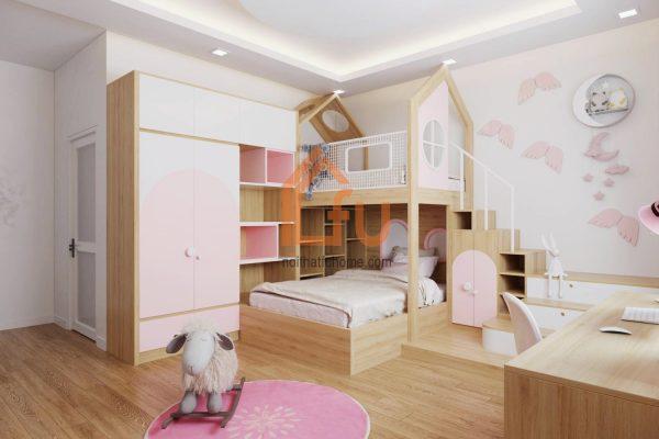 Thiết kế các không gian chức năng trong căn hộ chung cư 100m2 4