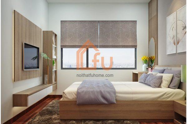 Thiết kế phòng ngủ chung cư đẹp dựa trên diện tích thực tế 3