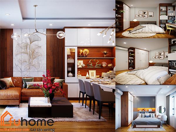 Bảng báo giá thiết kế nội thất chung cư 4