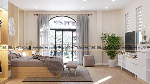 Thiết kế nội thất cho chung cư có diện tích 70m2