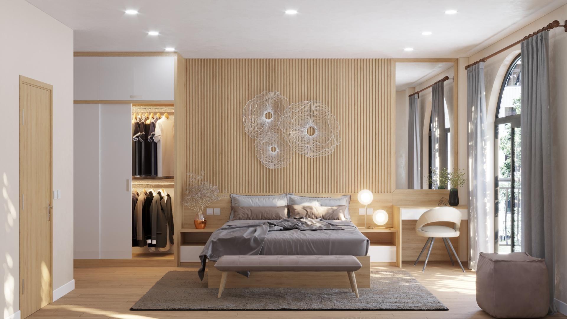 Nội thất Fuhome - Đơn vị chuyên thiết kế nội thất phòng ngủ chung cư đẹp uy tín