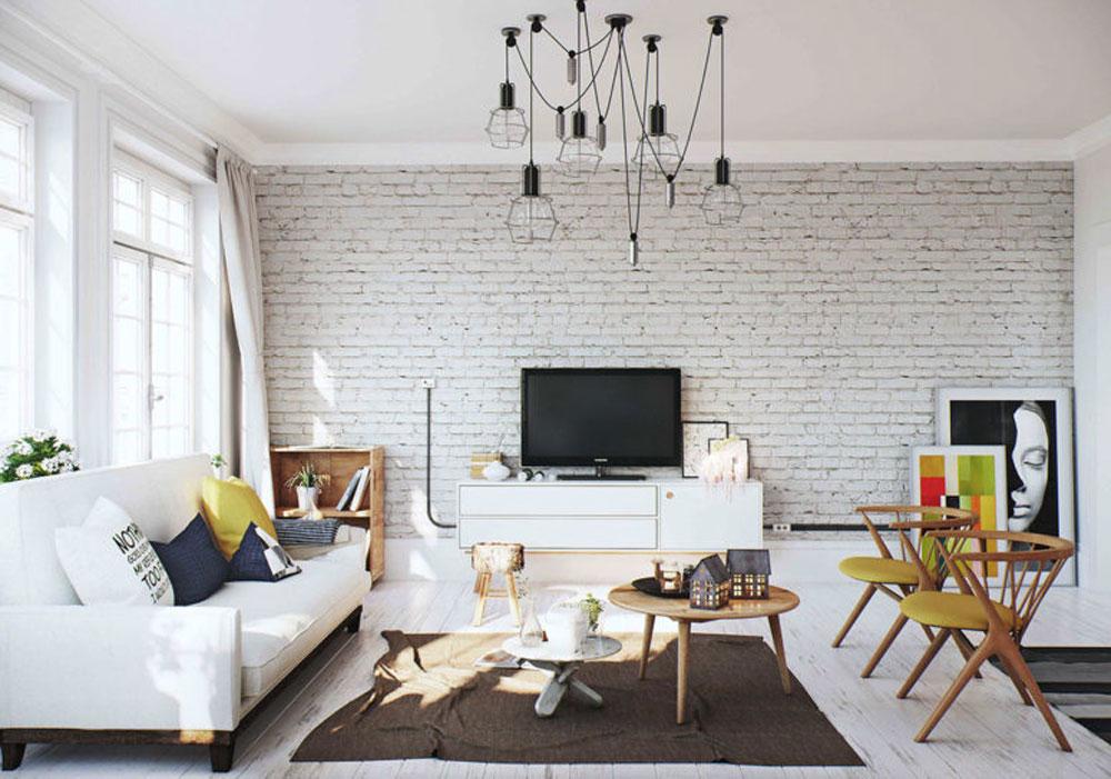 Mẫu thiết kế nội thất chung cư theo phong cách Scandinavian