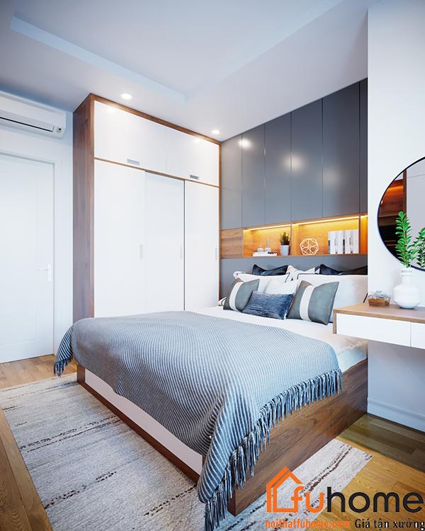 5 mẫu thiết kế nội thất chung cư 2 phòng ngủ đẹp, hiện đại, ấn tượng 2