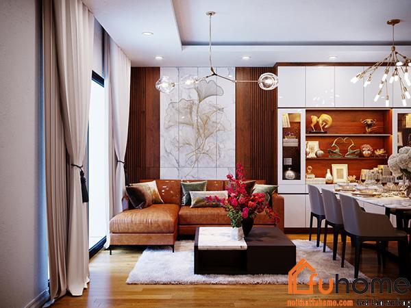 Lưu ý khi thiết kế nội thất chung cư 2 phòng ngủ 2