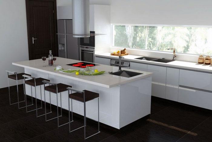 Thiết kế nội thất bếp hiện đại - Bếp đẹp và đủ công năng