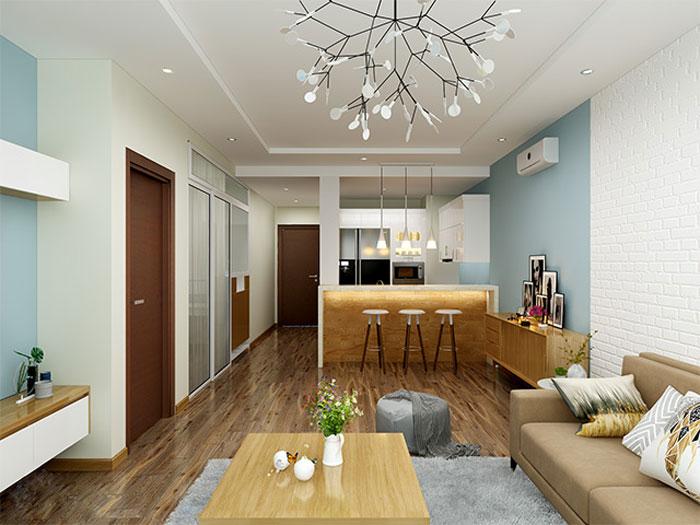 Thiết kế nội thất chung cư 70m2 cần lưu ý những gì? 2