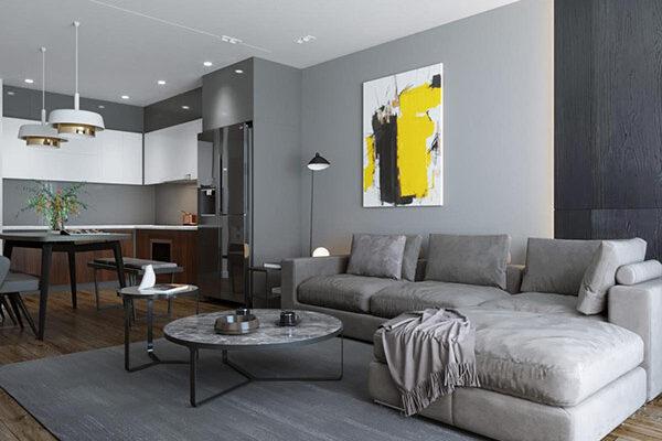 Thiết kế nội thất chung cư 3 phòng ngủ cho không gian sống đẹp và tiện nghi 12