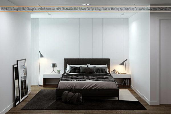 Thiết kế nội thất chung cư 3 phòng ngủ cho không gian sống đẹp và tiện nghi 13