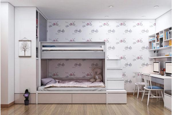 Thiết kế nội thất chung cư 3 phòng ngủ cho không gian sống đẹp và tiện nghi 11