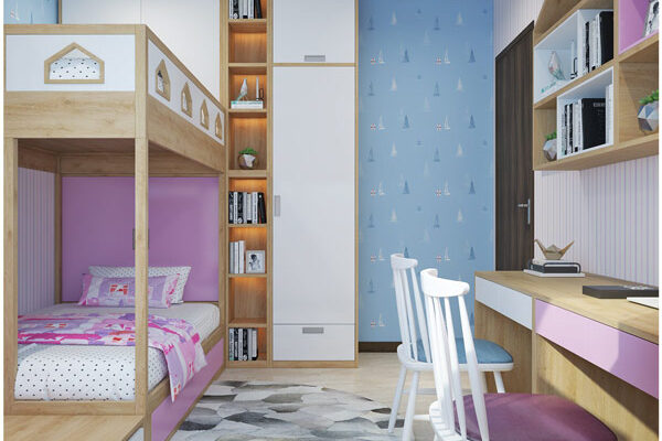 Thiết kế nội thất chung cư 3 phòng ngủ cho không gian sống đẹp và tiện nghi 5