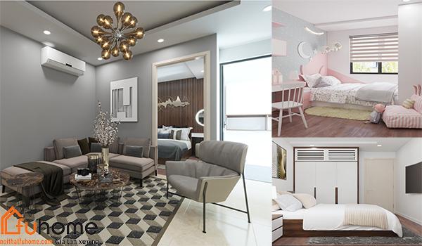 Thiết kế nội thất chung cư 3 phòng ngủ - Xu hướng hiện nay