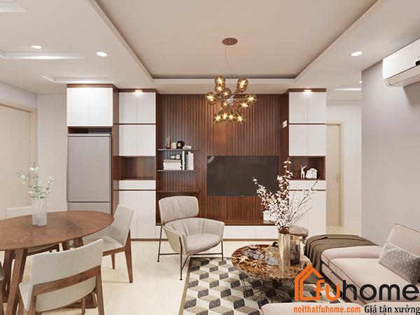 Thiết kế nội thất chung cư 70m2 cần lưu ý những gì? 1