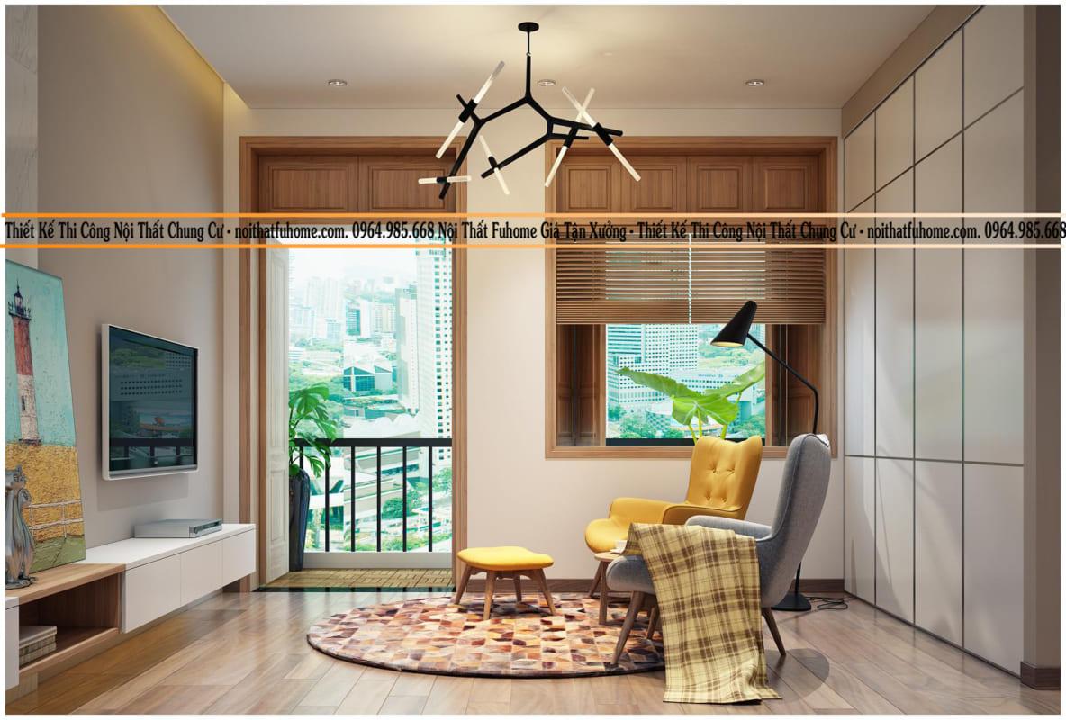 Để thiết kế nội thất chung cư đẹp, hiện đại chi phí hợp lý hãy đến với Nội thất Fuhome