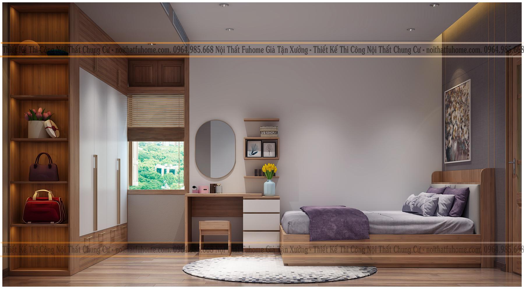 Thiết kế nội thất chung cư 60m2 – Những mẫu nhà đẹp không nên bỏ qua