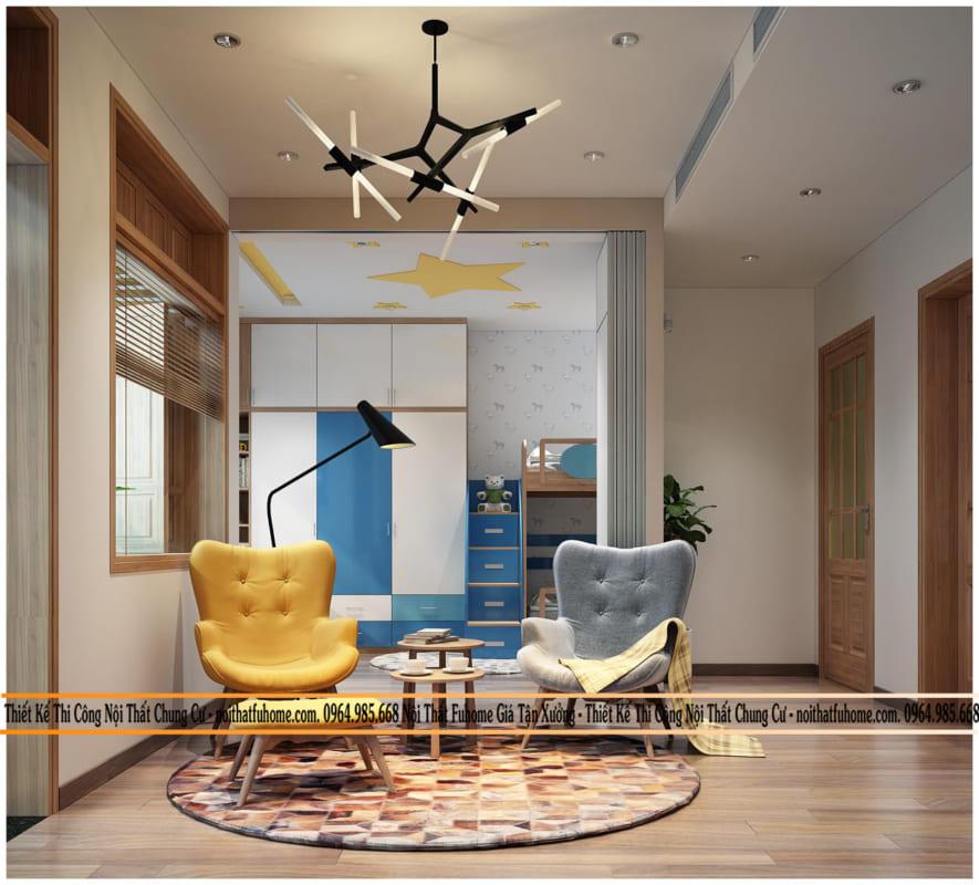 Nội thất Fuhome - Địa chỉ thiết kế nội thất căn hộ 70m2 chất lượng nhất