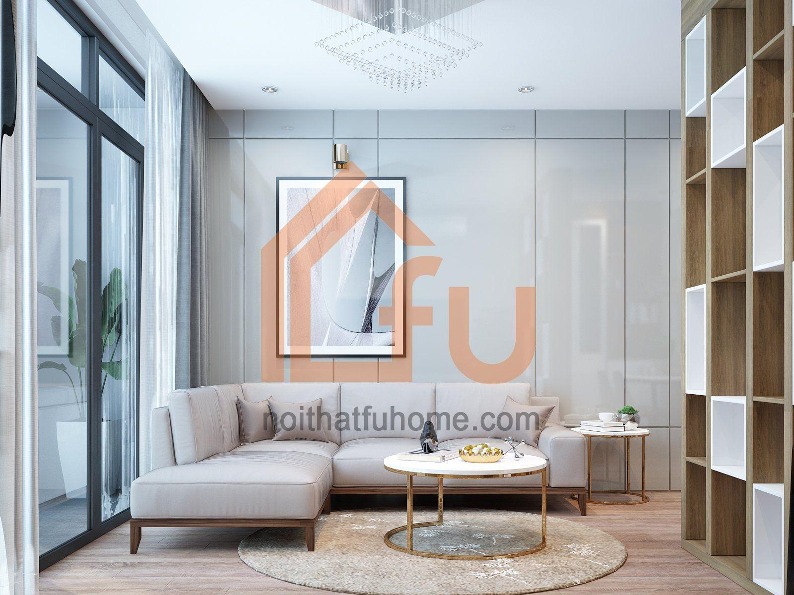 Thiết kế thi công nội thất chung cư 90m2 tại The City Light Vĩnh Yên