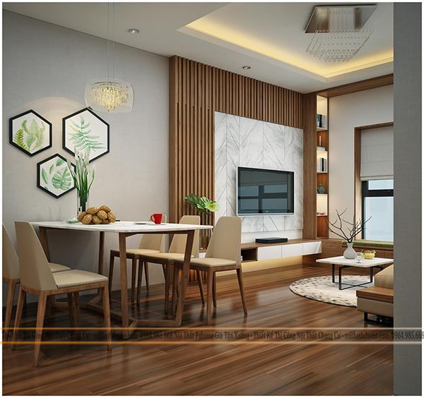 Nội thất chung cư đẹp cần đảm bảo tính thẩm mỹ