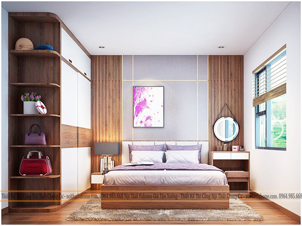 Thiết kế và thi công nội thất công trình nhà anh Long chung cư Hateco 5