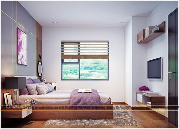 Thiết kế và thi công nội thất công trình nhà anh Long chung cư Hateco 4