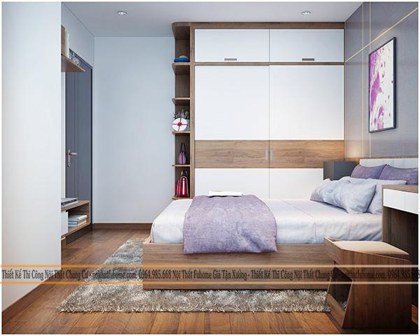 Thiết kế và thi công nội thất công trình nhà anh Long chung cư Hateco 6