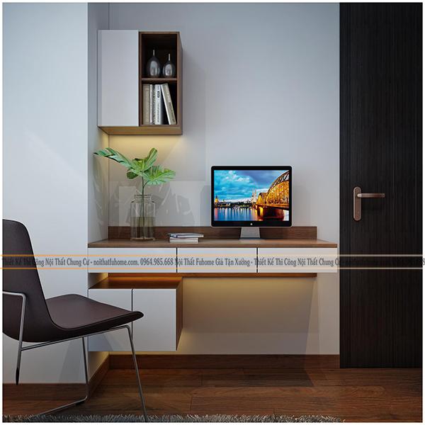 Thiết kế và thi công nội thất công trình nhà anh Long chung cư Hateco 9