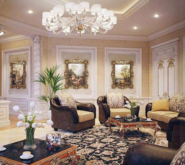 Thiết kế nội thất phong cách Pháp luôn mang đến sự sang trọng và đẳng cấp