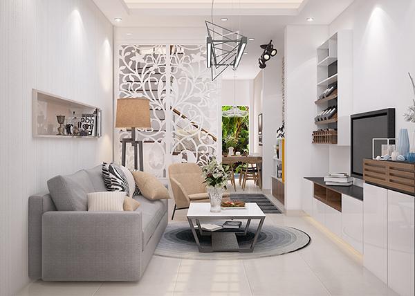 Thiết kế nội thất biệt thự liền kề đẹp - Phong cách mới