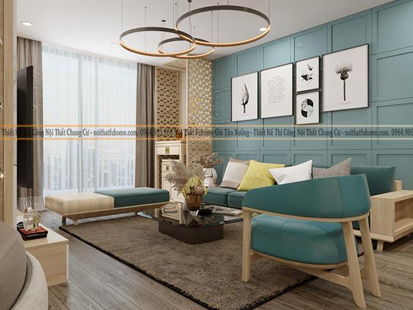 Thiết kế căn hộ giúp tạo không gian mới cho gia đình bạn