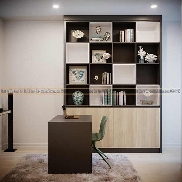 Nội thất Fuhome - Thiết kế bàn học gỗ công nghiệp uy tín chất lượng nhất