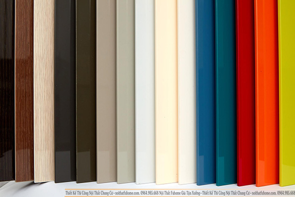 Ván gỗ công nghiệp MFC phủ Melamin có đa dạng màu sắc và chủng loại