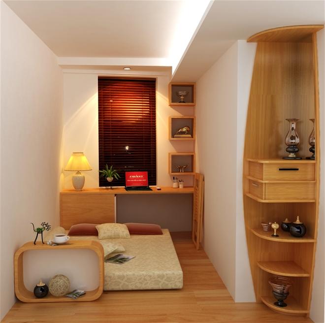 Đồ gỗ công nghiệp được ứng dụng làm nhiều vật dụng trong thiết kế nội thất 3