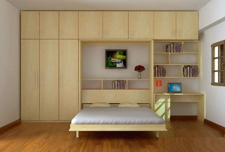 Giường gỗ công nghiệp có giá rẻ hơn nhiều so với sử dụng gỗ tự nhiên