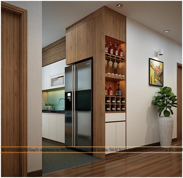 Thiết kế chung cư Eco Lake View 32 Đại Từ - Nội thất đẹp 2