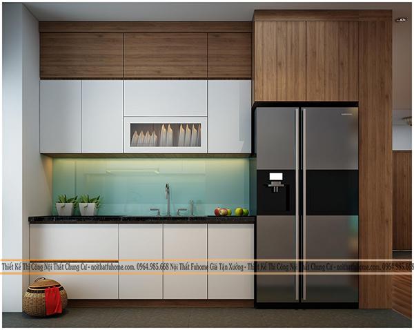 Gỗ công nghiệp MFC được sử dụng làm tủ bếp