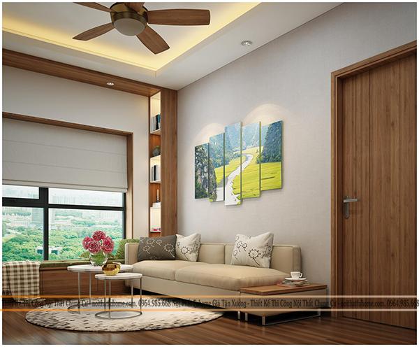 Những mẫu thiết kế nội thất chung cư đẹp, tiện nghi 2