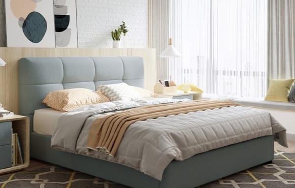 Giường gỗ công nghiệp giá rẻ đang là xu hướng hiện nay của nhiều gia đình
