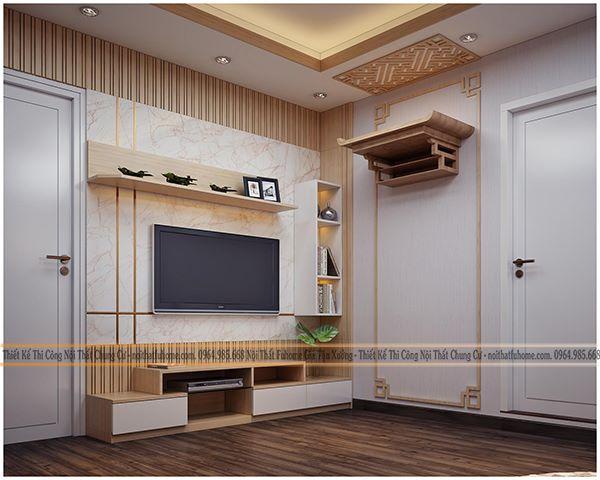 Trần gỗ công nghiệp – Vật liệu mới cho công trình bền đẹp với thời gian