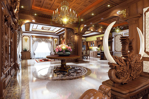 Thiết kế nội thất biệt thự cổ điển luôn mang đến sự sang trọng quý phái
