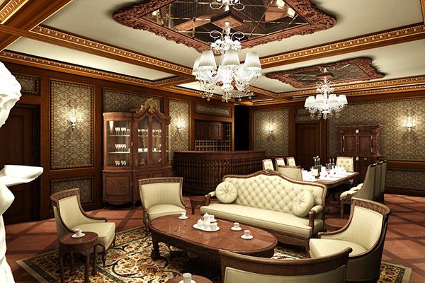 Những mẫu thiết kế nội thất biệt thự cổ điển đẹp, ai cũng mê mẩn 2